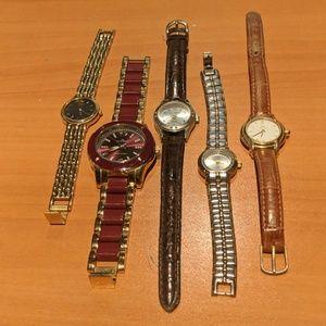 Vintage Ladies Watches- Seiko, Fendi, Anne Klein